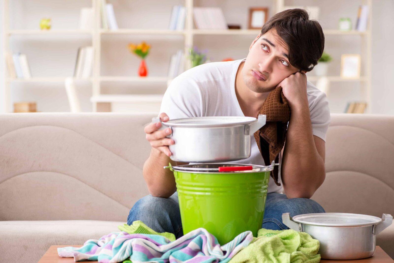 איתור נזילות מים בבית
