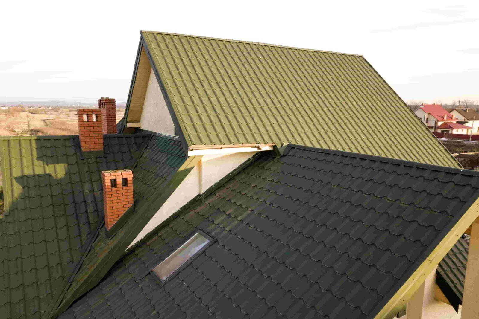 גג רעפים לאחר ניקוי